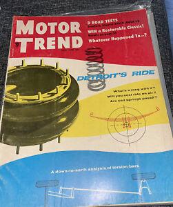 Motor Trend Magazine July 1955 Detroit's Ride Buick Nash V8 (U)