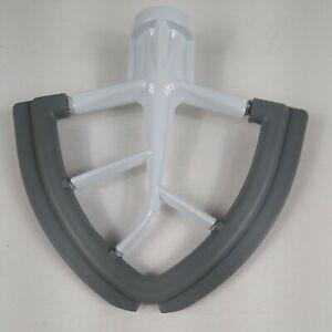 4.5/5Q Aluminum Flex Edge Beater Fit Kitchenaid Tilt-Head Stand Mixer, Non-Stick