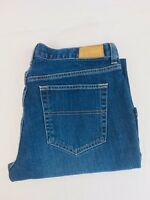 Tommy Hilfiger Women's Low Rise Flare Cut Blue Denim Jeans, Size W 32 Inseam 29