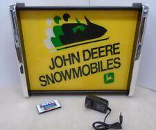 John Deere Snowmobiles LED Display light sign box