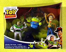 Toy Story Escape The Claw 3-Pack ~ New Disney Pixar Woody Buzz Kids Toy Set Rare