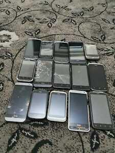 Job lot of 15 devices: HTC One Desire Mix Joblot Bulk Faulty 029
