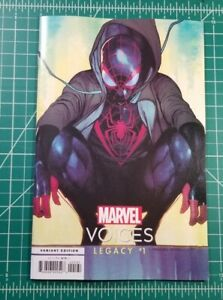 MARVELS VOICES LEGACY #1 COIPEL VARIANT NM+ 2021 MARVEL MILES MORALES