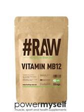 #RAW Vitamin B12 Methylcobalamin - 120 x 1mg V Caps - Immune Fatigue