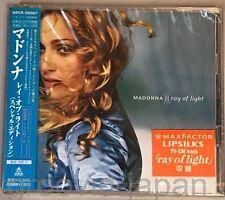Sealed MADONNA Ray Of Light/Words+Music JAPAN CD WPCR-10556~7 OBI+PROMO STICKER