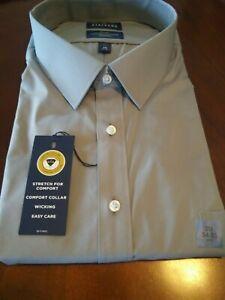 Stafford Travel Comfort Stretch Dress shirt BIG 20 34-35