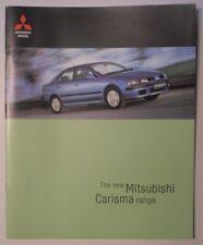 MITSUBISHI CARISMA RANGE orig 1999 UK Mkt Large Brochure - Classic Equippe Sport