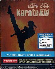 KARATE KID 2010 Future Shop Steelbook Blu-ray DVD HTF RARE Sealed Shipped in Box