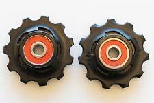 fit Red Rear Derailleur SRAM Ceramic Bearing AeroGlide Pulleys