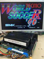 TECMO WORLD SOCCER '96 - Neo Geo MVS 100% originale SNK