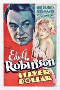 Silver Dollar - 1932 - Edward G. Robinson Bebe Daniels Pre-Code Drama Film DVD