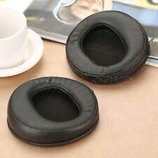 Black Leather Earpads Fit AH-D2000 AH-D5000 AH-D7000 Headphones Comfortable