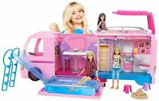 Barbie Dream Camper Playset - Pretend Play Dollhouse Doll Vehicle Kids Girl Gift