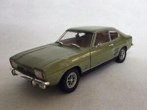 Minichamps 1:18 Ford Capri 1700GT 1969 Light Metallic Green