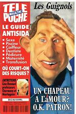 D- Télé Poche N°1468 Les Guignols,Whoopi Goldberg