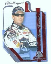 Jimmie Johnson, Press Pass Premium Challenger Red Card, 2003, NASCAR  # P61