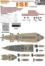 Hunter 1/350 W35031 Wood deck IJN Ise Aircraft Battleship for Fujimi