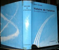AERONAUTIQUE HISTOIRE DE L'AVIATION RENE CHAMBE 1958 AQUARELLES BRENET LENGELLE