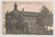 Lanark County BRIGDEN ONTARIO Brigden Public School, Cicra 1907