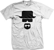 8 Bit Heisenberg - Funny Breaking Bad Walter White -Mens T-shirt