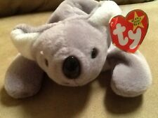 RARE Mel Ty Beanie Baby with pvc pellets!