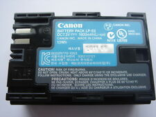 Batterie D'ORIGINE CANON LP-E6 GENUINE AKKU ACCU Battery EOS 7D 5D Mark II