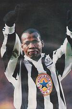 Football Photo>FAUSTINO ASPRILLA Newcastle United 1995-96