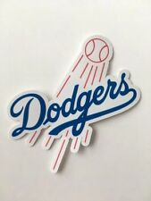 Los Angeles Dodgers Logo Car Bumper Laptop Bumper Vinyl Die Cut Sticker Decal