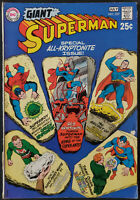 Giant Superman #227 FN+ 6.5 DC Comics 1970 Tear on Lower Spine See Pics