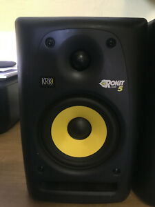 KRK Rokit RP5 G2 5 inch Studio Monitor - Black Single Unit
