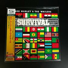 BOB MARLEY & THE WAILERS, SURVIVAL, LTD ED NUMB SHM-CD, JAPAN 2010, UICY-94596
