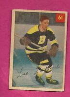 1954-55 PARKHURST # 61 BRUINS LEO LABINE  CARD  (INV# A7776)