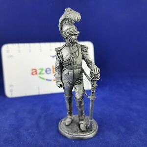 """Saxony Officer of the regiment """"Gard du Cor"""" 1810 Year 1/32 Scale Tin Figure"""