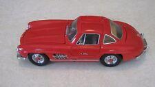 1:24 Franklin Mint 1954 Mercedes Benz 300 SL Gullwing Red