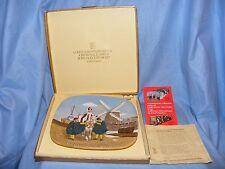 John Beswick Royal Doulton 1976 Navidad alrededor del mundo placa Holanda En Caja