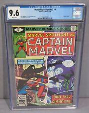 MARVEL SPOTLIGHT v2 #4 (Captain Marvel app) CGC 9.6 NM+ 1980 Steve Ditko cover