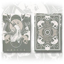 Bicycle Anicca Deck - Silver - Unbranded - Playing Cards - Magic Tricks - New