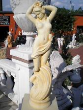 Gartenfigur, Steinfigur, Jungfrau, Steinguss, Menschen 80 cm Skulptur Gartendeko