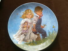 Bradex / Reco Collector Plate: Jack and Jill, Mother Goose Series, J McClelland