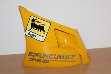 CARENAGE LATERAL SUPERIEUR GAUCHE pr DUCATI Desmoquatro 748  .ref: 48010391A (d)