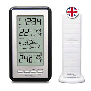 NEW Technoline WS-9130 Weather Station with Indoor and Outdoor Temperature