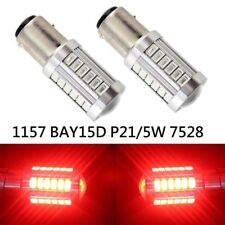 Front Signal 1157 2057 3496 7528 P21/5W 33SMD LED Bulb Red K1 HA