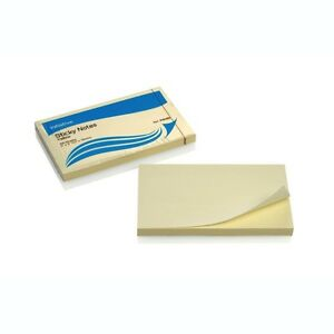 Remove Notes, Yellow Canary Sticky Post Notes, 76mm x 127mm. 10 packs of 100