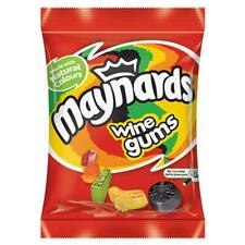 Maynards Wine Gums Sweets - Case of 12x 130g Bags - Party Fillers