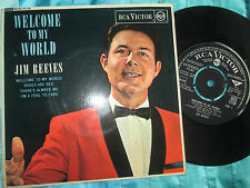 Jim Reeves – Welcome To My World RCA Victor – RCX-7119 Mono Vinyl 45 Single