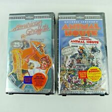 2 Special Editions VHS Tapes American Graffiti And Animal House Bonus CD Sealed
