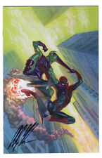 AMAZING SPIDER-MAN #798 ALEX ROSS 1:100 *SIGNED* VIRGIN COA 1ST RED GOBLIN