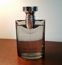95% Full! Bvlgari Soir Pour Homme by Bvlgari EDT Cologne for Men 3.4 oz 100 ml