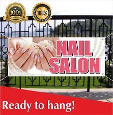 Nail Salon Banner Vinyl Mesh Banner Sign Flag Beauty Salon Barber Shop Spa