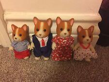 Sylvanian Families DePembroke Corgi Dog Family